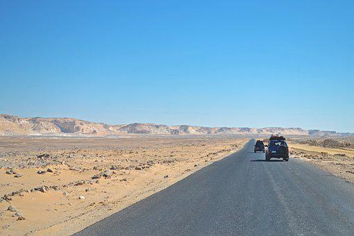 Desert, Safari, 4x4, Cairo, Egypt, Road, Africa