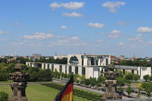 Berlin, Chancellery, Merkel, Germany, Government