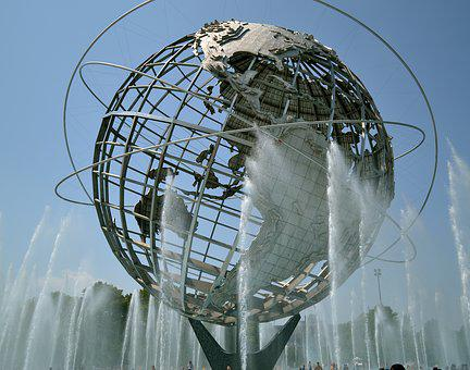 World's Fair, Globe, Earth, Landmark, Monument, Sphere