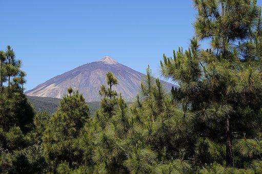 Teide, Tenerife, Volcano, Highest Mountains, Nature