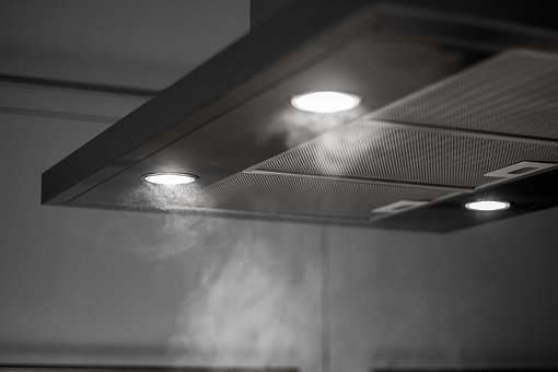 Extractor, Kitchen, Kitchen Machine, Led, Lamp