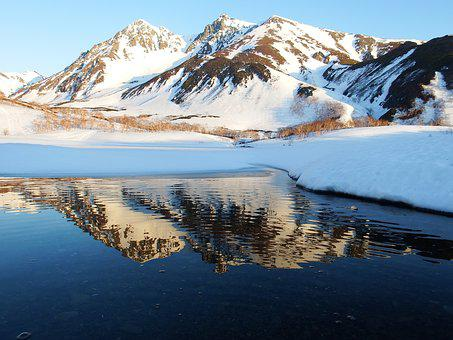 Mountains, Meltwater, Landscape, Nature, Mountain Lake