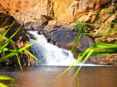 Northern Territory, Water Fall, Swimming Hole, Nt