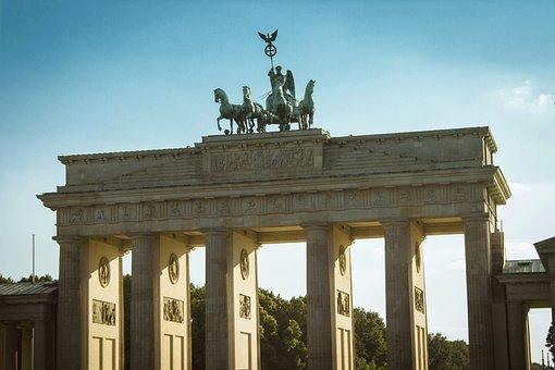 Berlin, Brandenburg Gate, Goal, Quadriga, Germany