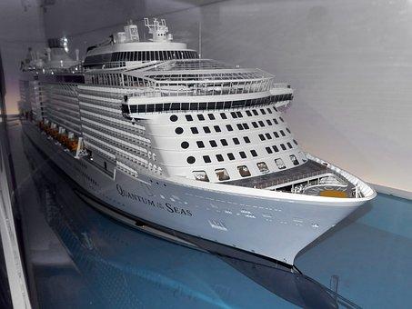 Model Ship, Cruise Ship, Shipyard, Meyer Shipyard