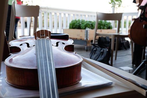 Violin, Music, Tool, Musical Instruments, Notes, Sound