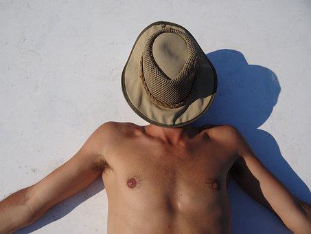 Sun, Tanning, Beach, Heat, Hell, Brown, Nature, Lazy