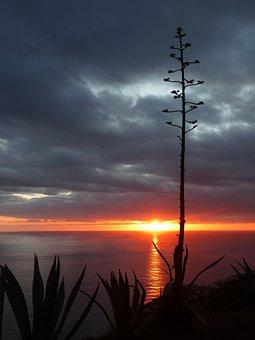 Sunset, Abendstimmung, Afterglow, Romance