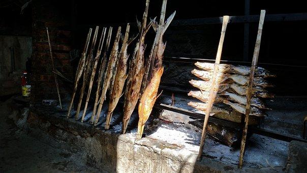 Grilled Fish, Thung Nai, Peace, Vn