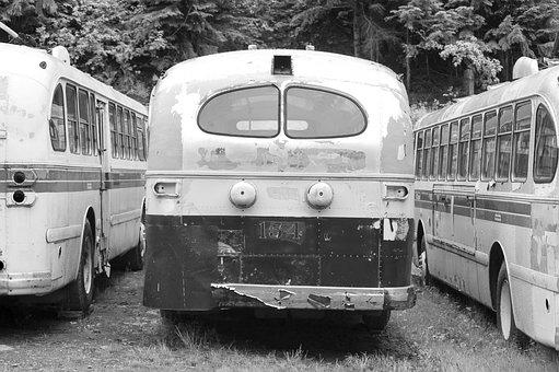 Vintage, Bus, Travel, Retro, Journey, Trip, Vacation