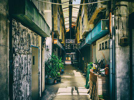 Japan, Kumamoto, Kawaramachi, Building, Architecture
