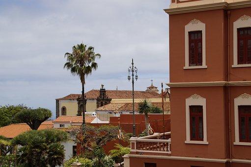 Cityscape, Building, La Orotava, Tenerife, Bergdorf