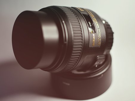 Lens, Photo, Nikon, Camera, Solid 40mm, Light, Glass