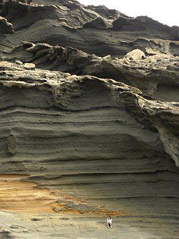 Canary Islands, Lanzarote, Rocks, Detail, Summer