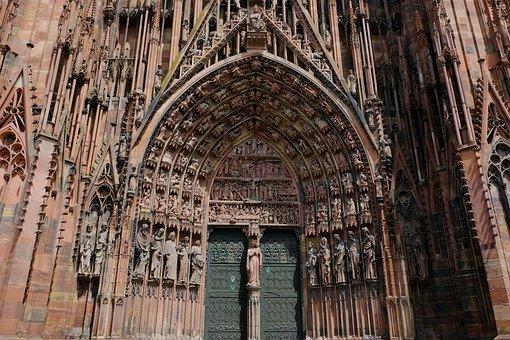Cathedral, Church, Religion, Dom, Strasbourg
