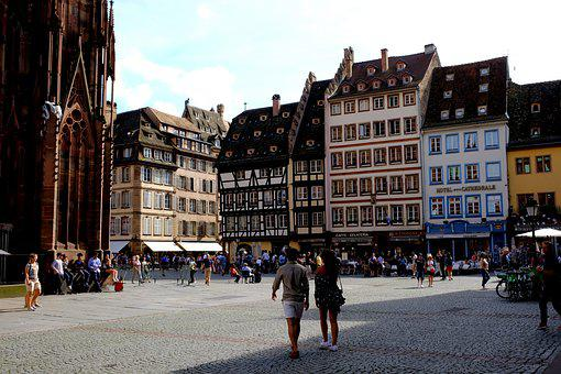 Marketplace, City, Center, Old Town, Stadtmitte