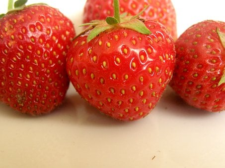 Strawberry, Strawberries, Red, Fruit, Eating, Food