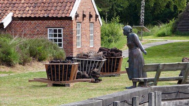 Van Veelen, Museum, Fehnmuseum, Peat Processing