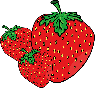 Strawberry, Holidays, Fragaria Vesca, Fruit, Summer