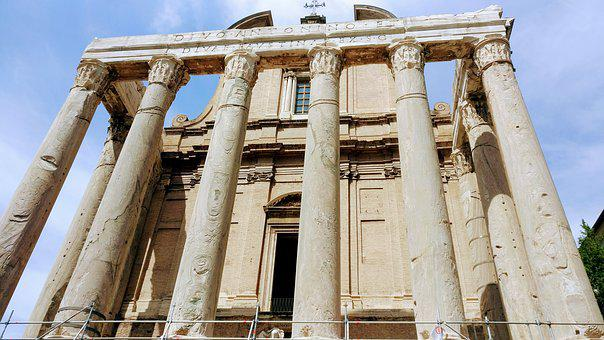 Rome, Roman Forum, Historic, Monument, Forum, Ancient