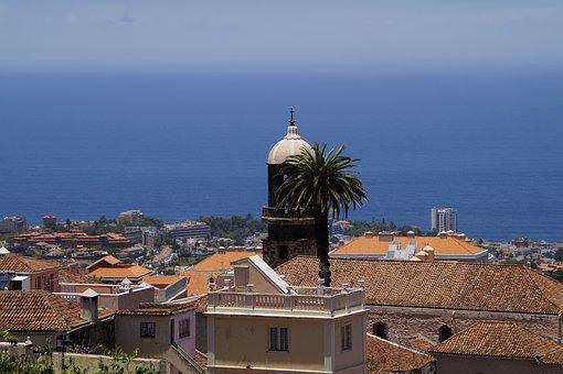 Mediterranean, Flair, Roofs, City View, La Orotava