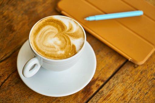 Coffee, Latte, Cappuccino, Food, Cup, Espresso