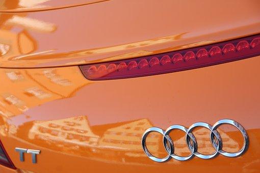 Audi Tt, Mirroring, Dinosaur, Old Town