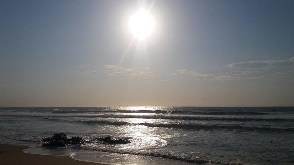Sun, See, Beach, Sunlight, Sky, Morning, Outdoor, Water
