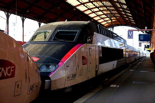 Tgv 1 Team, Railway, French, Old Model, High Speed