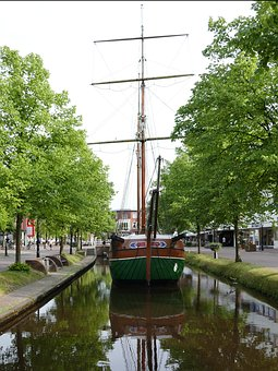 Ship, Saver, Open Air Museum, Papenburg Germany