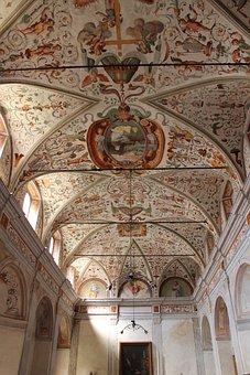 Pavia, Church, Sant Agostico, The Sacristy, Time
