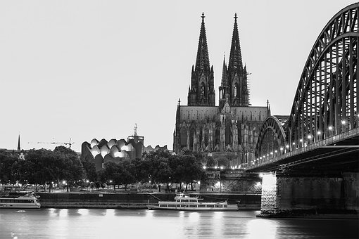 Cologne Cathedral, Rhine, Cologne, Dom, Church