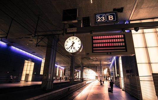 Station, Antwerp, Travel, City, Belgium, Building