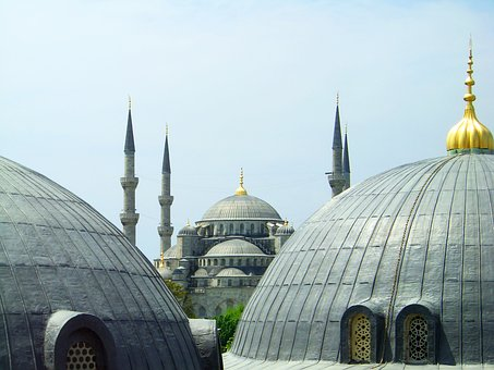 Mosque, Islam, Istanbul, Blue Mosque, Dome, Religion