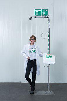 Free-standing Emergency Shower, Body Safety Shower
