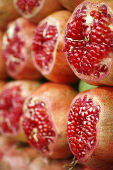 Pomegranate, Fruit, Health, Diet, Fresh, Food