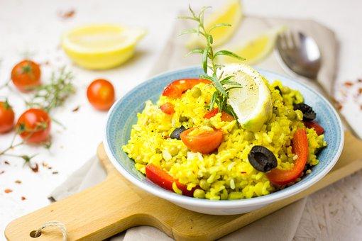 Paella, Spain, Pan, Fry Up, Rice, Vegetables, Saffron