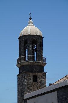 Steeple, Church, Building, Catholic, Sky, Great, Faith