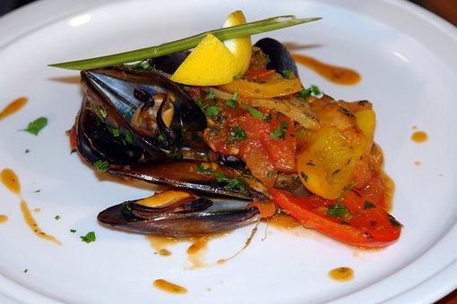 Clams, Seafood, Healthy, Vegetables, Food, Fresh