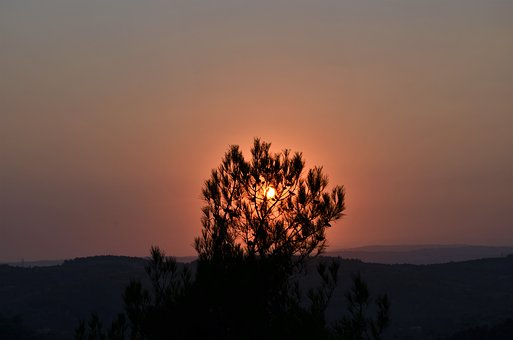Solar, Nature, Sky, Sunset, Landscape, Turkey