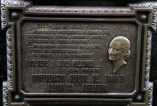 Eva Peron, Cemetery, Buenos Aires, Monument, Graveyard