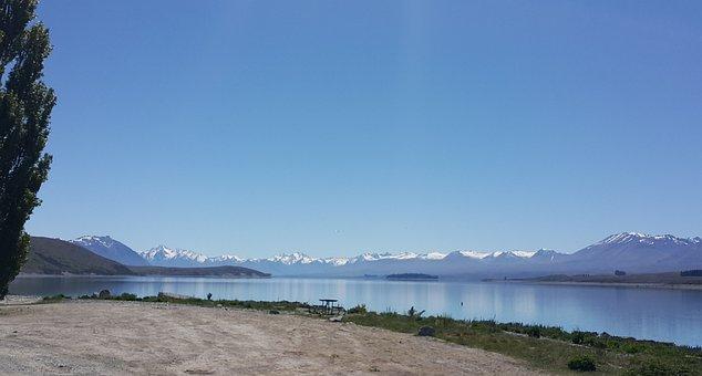 Lake, Tekapo, Newzealand