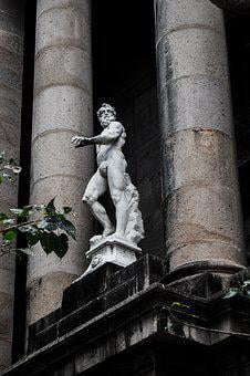 Statue, Greek, Old, Travel, Famous, Historical, Europe