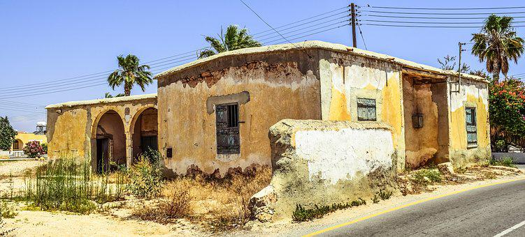 Old House, Abandoned, Aged, Weathered, Architecture