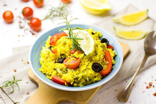 Paella, Fry Up, Pan, Saffron, Spain, Eat, Tasty