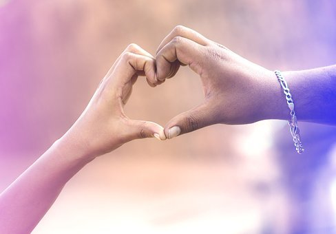 Love, Hands, Couples, Heart, Romantic, People, Sign