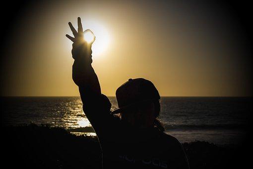 Sunset, Sea, Cottesloe, Ok