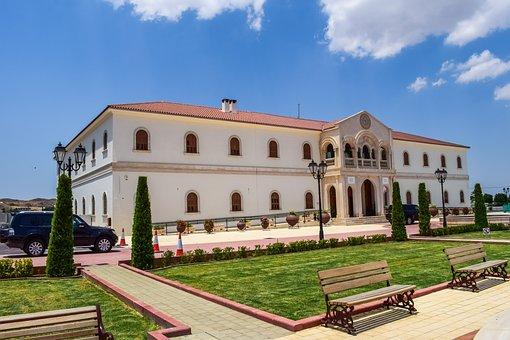 Tamassos Bishop, Building, Architecture, Square