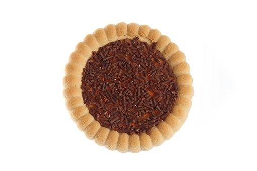 Cake, Cookies, Circle, Close-up, Sweet, Brown