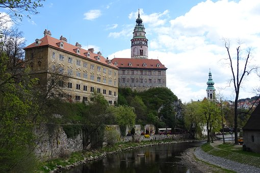 Czech Krumlov, River, The Historic Core Of The, Castle